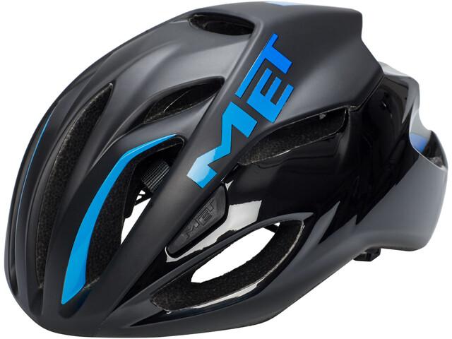 MET Rivale Cykelhjelm blå/sort (2019) | Helmets